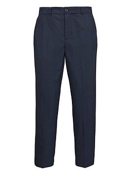 V by Very V By Very Boys Navy Pindot Occasionwear Smart Suit Trousers -  ... Picture