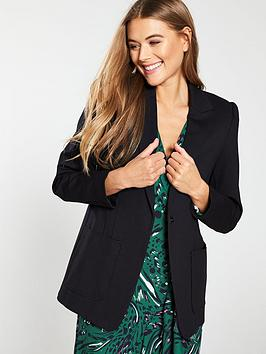 V by Very V By Very Patch Pocket Blazer - Black Picture