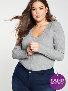 v-by-very-curve-scoop-neck-rib-bodysuit-grey-marlnbsp