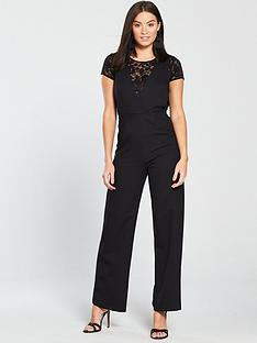 miss-selfridge-2-in-1-lace-jumpsuit-black