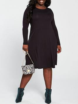 V by Very Curve V By Very Curve Jersey Swing Dress Picture