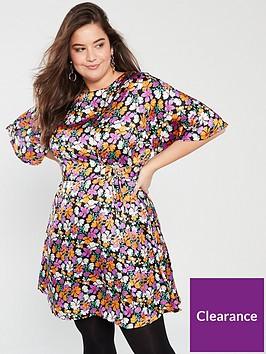 v-by-very-curve-d-ring-tea-dress-print