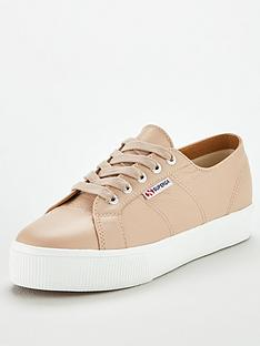 superga-2730-nappa-leanbsplace-up-plimsoll-trainers-nude
