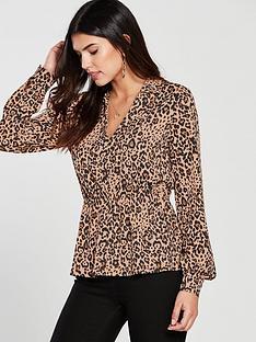 v-by-very-leopard-print-v-neck-top-multinbsp
