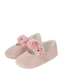monsoon-baby-girls-nicole-pink-glitter-corsage-strap-bootie