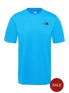 the-north-face-flex-ii-ss-t-shirt-blue