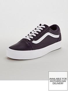 vans-ua-leather-old-skoolnbsp--purplewhite