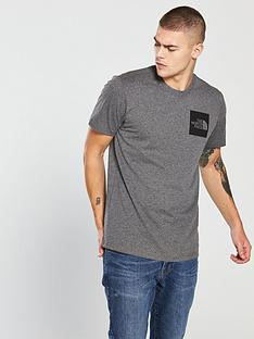 the-north-face-short-sleeve-fine-t-shirt-medium-grey-heather