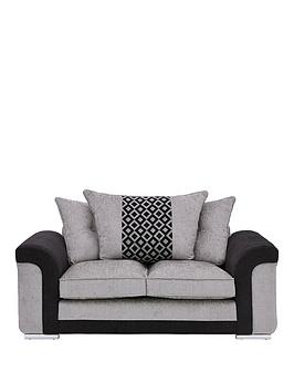 Very Carrara Fabric 2 Seater Scatter Back Sofa Picture