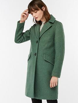 monsoon-lizzie-boucleacutenbspcoat-green