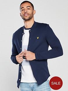 lyle-scott-bomber-collar-jersey-shirt
