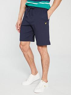 lyle-scott-sweat-shorts-navy