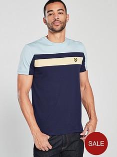 lyle-scott-colour-block-t-shirt