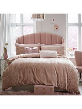 Michelle Keegan Home Michelle Keegan Home Ariana Velvet Duvet Cover Set Picture