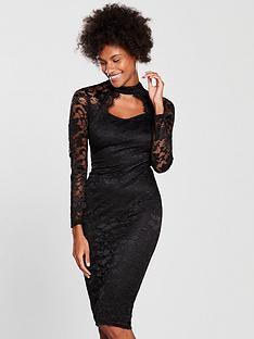 ax-paris-lace-cut-in-bodycon-dress-black