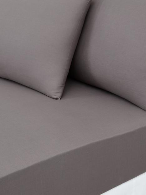 essentials-collection-144-thread-countnbsp25-cm-deep-fitted-sheet-in-small-double