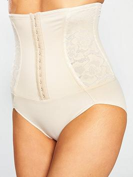 Maidenform   Firm Foundations Waist Nipper Brief - Nude