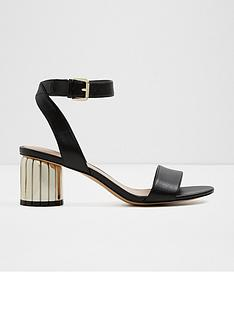 aldo-debryllanbsptwo-piece-sandal-metal-heeled-shoes-blackgold