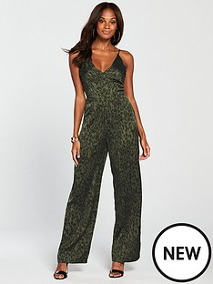 ax-paris-animal-satin-printed-jumpsuit-khaki