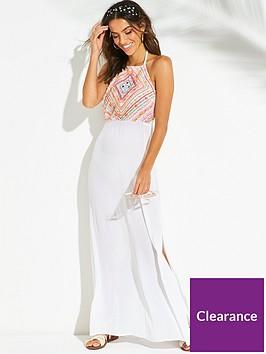v-by-very-embellished-halter-maxi-beach-dress-white