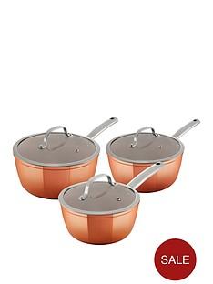 tower-3-piece-forged-saucepan-set-ndash-rose-gold