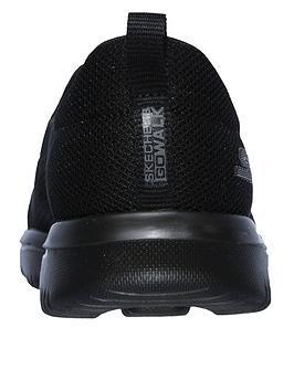 61d99d7c66435 Skechers Go Walk Evolution Ultra Reach Mesh Plimsoll Shoes - Black |  littlewoods.com