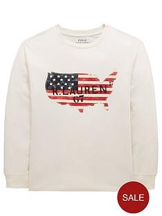 ralph-lauren-boys-long-sleeve-flag-print-t-shirt-cream