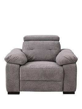 Very  Bowen Fabric Power Recliner Armchair