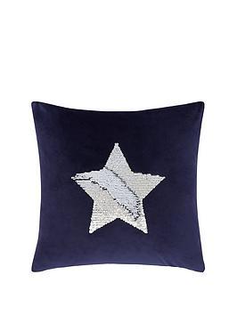 catherine-lansfield-sequin-star-cushion