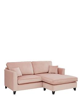 Very New Dante Fabric 3 Seater Reversible Chaise Sofa Picture