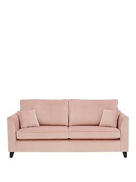 Very New Dante Fabric 3 Seater Sofa Picture
