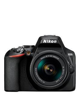 Nikon Nikon D3500 Dslr Camera Plus Af-P 18-55Mm Non-Vr Lens Picture
