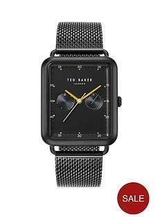 ted-baker-ted-baker-black-rectangular-dial-black-stainless-steel-mesh-mens-watch