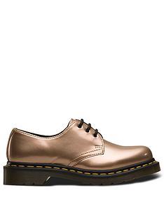 dr-martens-1461-vegan-3-eye-flat-shoes-rose-gold