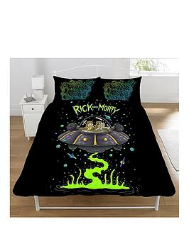 Rick & Morty Rick & Morty Rick And Morty Duvet Cover Set Picture