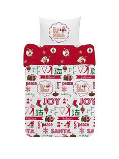elf-on-the-shelf-reversible-christmas-junior-duvet-cover-set