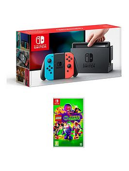 nintendo-switch-neon-console-with-lego-dc-super-villains