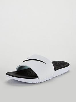 386319e902c0 Nike Kawa Junior Sliders
