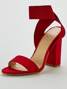 michelle-keegan-beau-elastic-strap-sandal-red