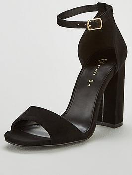 V by Very V By Very Bessie Strap Block Heel Sandal Shoes Picture