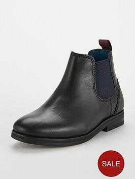 b04d47b6d5d07 Baker by Ted Baker Boys Smart Chelsea Boot
