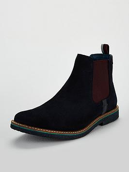 baker by ted baker boys casual suede boot