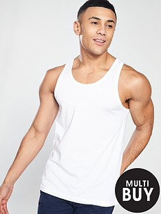 v-by-very-basic-vest-white