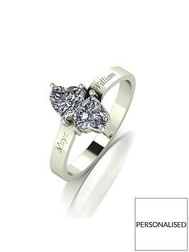 moissanite-personalised-9ct-gold-1ct-eq-moissanite-heart-twist-ring