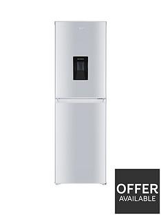swan-sr15635w-55cmnbspwide-fridge-freezer-with-water-dispenser-white