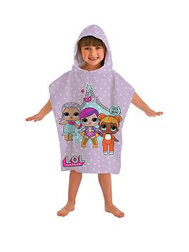 lol-surprise-poncho-towel