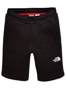 the-north-face-boys-fleece-shorts-ndash-black