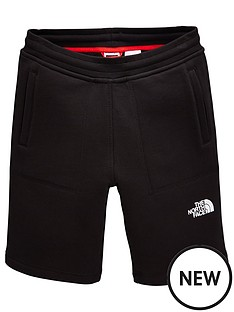 the-north-face-boys-fleece-shorts-ndash-black
