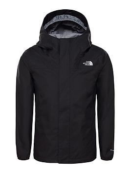 the-north-face-girls-resolve-reflective-jacket-black