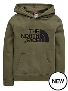 the-north-face-boys-drew-peak-overheadnbsphoodienbsp--khaki